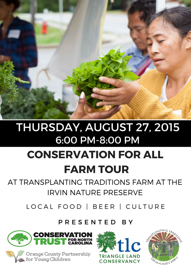 Conservation for All Farm Tour