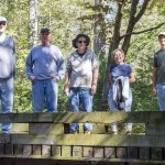Conservation Corps at Brumley Forest October 2015