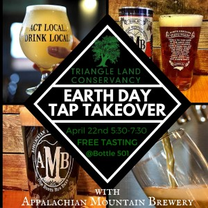 Earth Day Tap Takeover @ Bottle 501 | Durham | North Carolina | United States