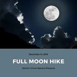 Full Moon Hike @ Horton Grove Nature Preserve | Bahama | North Carolina | United States