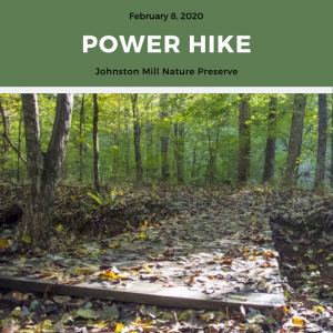 *Rescheduled* Power Hike @ Johnston Mill Nature Preserve | Chapel Hill | North Carolina | United States